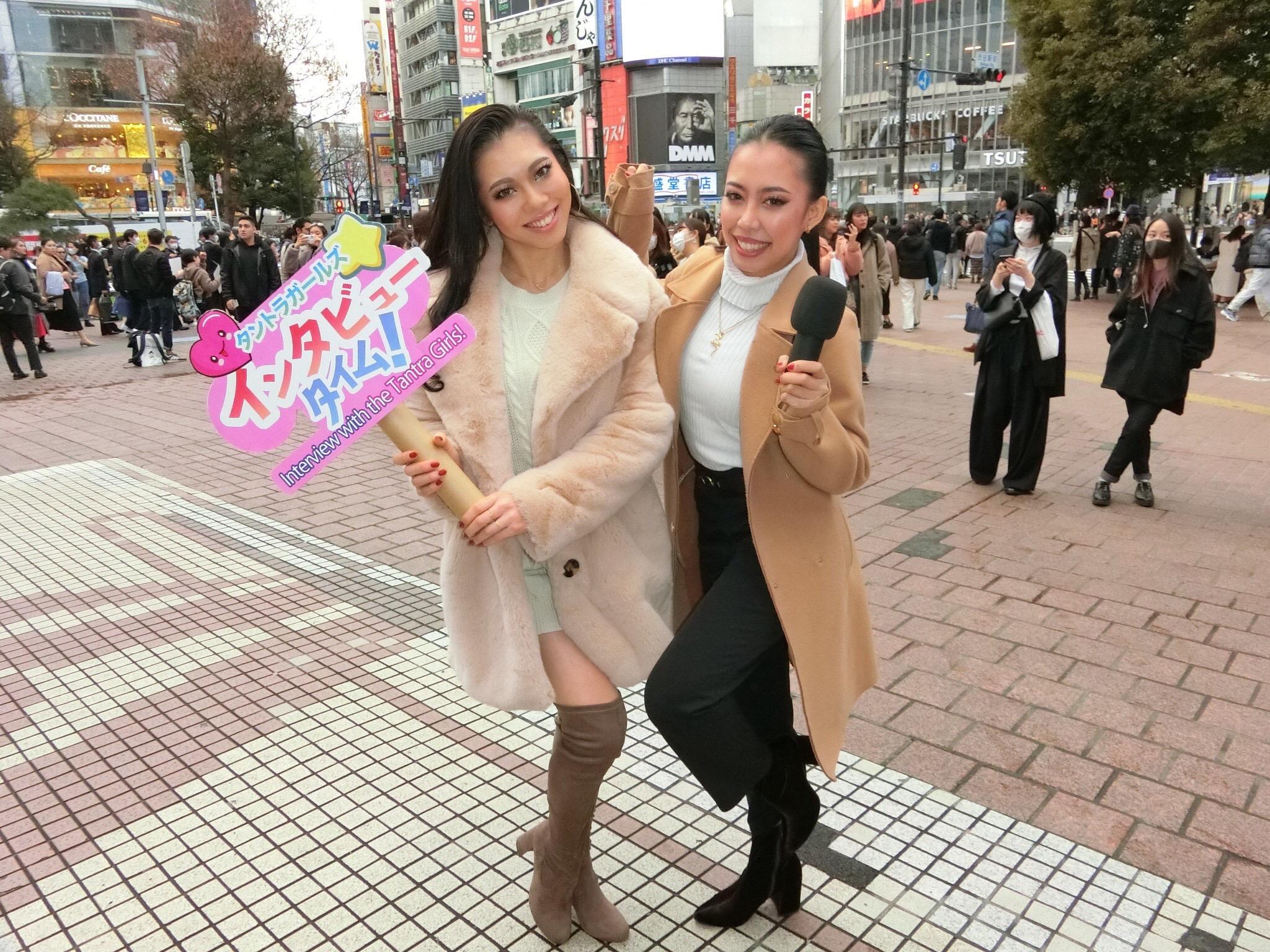 初!!!街頭インタビュー@渋谷⭐︎